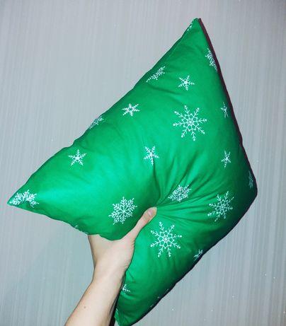 Скатерти, салфетки, подушки новогодние