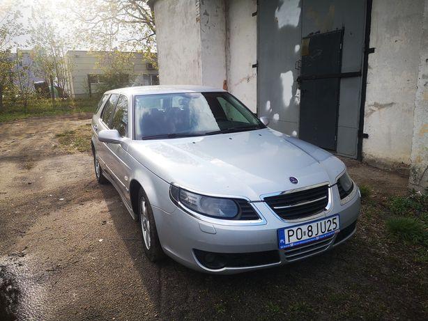 Sprzedaz zamiana Saab 9.5 2.3t 2005r lift skóra zamiana silnik od Aero