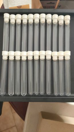 Tubos de ensaio plástico
