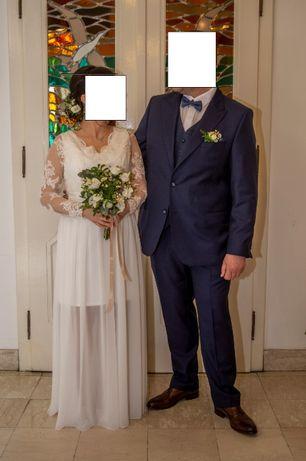 suknia ciążowa ślubna