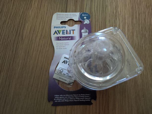 2 tetinas para líquidos espessos 6+ meses Avent