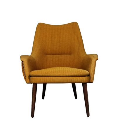 Poltrona Dinamarquesa da década de 50| Armchair| Escandinavo| Vintage