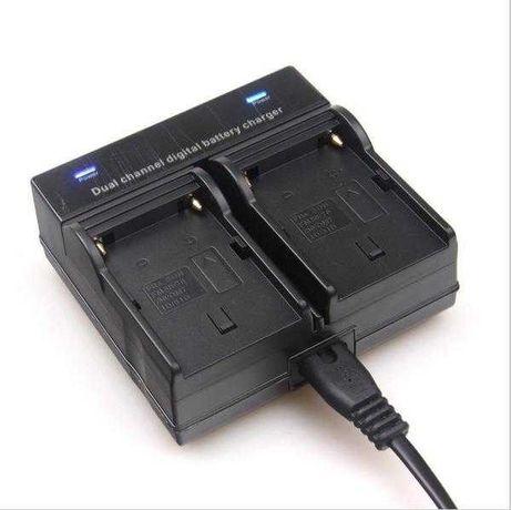 Двойное зарядное для аккумуляторов Sony NP-F550/570, 750/770, 960/970