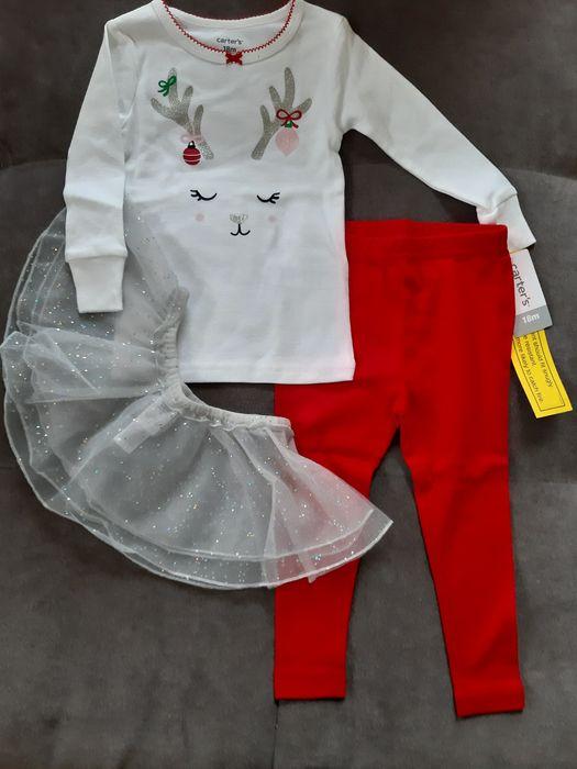 Новорічна піжама пижама carters 18M Черновцы - изображение 1