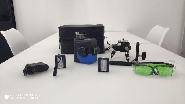 Laser płaszczyznowy 360 zielony,poziomica