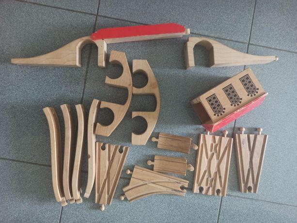 Деревянная железная дорога ELC Ikea Brio Томас паровозики