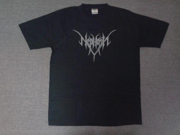 Koszulki, T-shirty zespołów metalowych m.in. Marduk, Larva, Nephasth