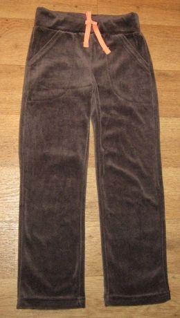 велюр брюки штаны 4_6 лет