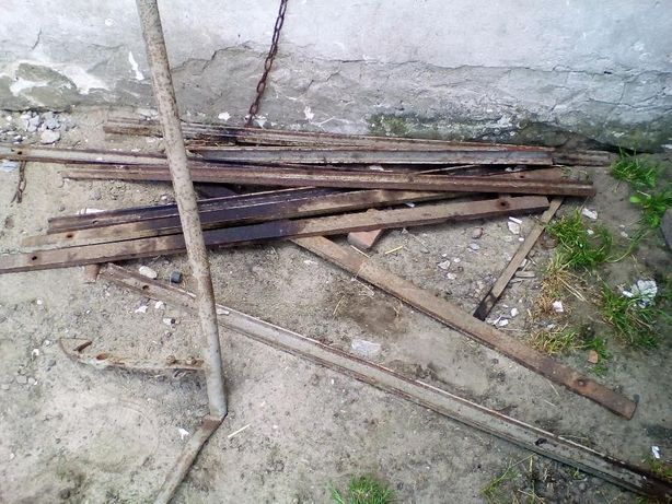 Części przyczepa samozbierająca T010/2 łańcuchy tryby taśma siłownik