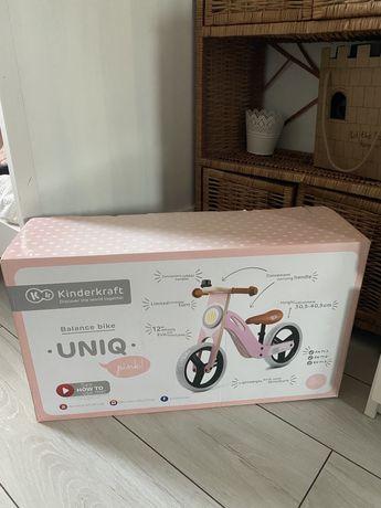 Rower biegowy różowy kinderkraft