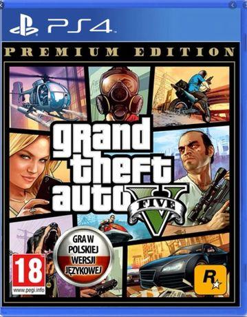 Grand Theft Auto V GTA 5 PS4 Premium Edition idealna MAPA