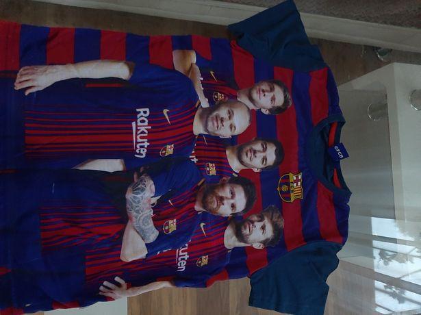 Bluzka koszulka z krótkim rękawem r. 146/152 FC Barcelona wysyłka