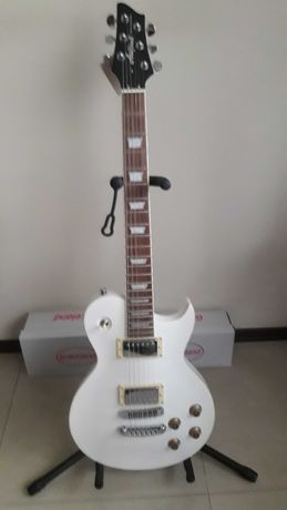 Gitara elektryczna Aria II Pro PE-350 WH Les Paul
