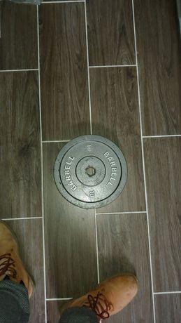 Obciążenie Barbell 10kg pojedyncze