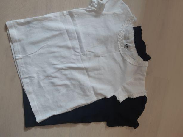 Dwie koszulki h&m nowe r.92