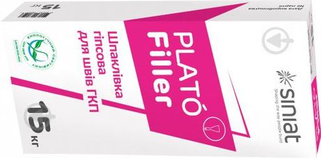 Шпаклевка Plato Filler для швов ГКП 15 кг