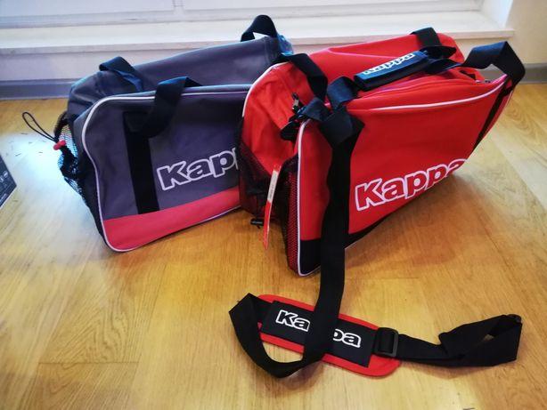 torba DAMSKA sportowa treningowa KAPPA do ręki/na ramię kieszeń boczn