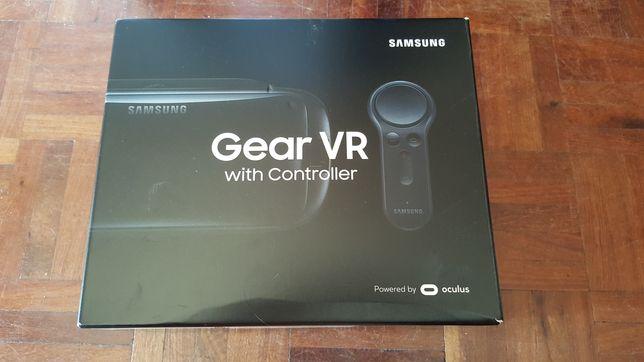 Óculos Samsung Gear VR + comando + adaptador type C