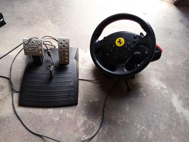 Vendo volante e pedais para playstation 2