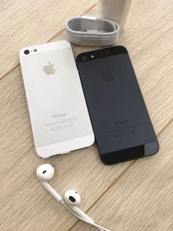 iPhone 5|5C|5S 16/32/64Gb white black neverlock айфон