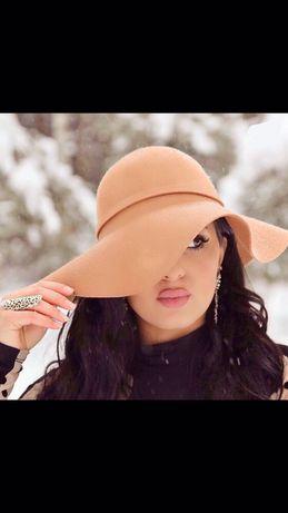 Женская фетровая шляпа C&A
