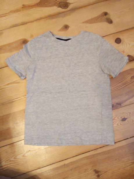 134/140 cm koszulka Basic H&M prawie nowa
