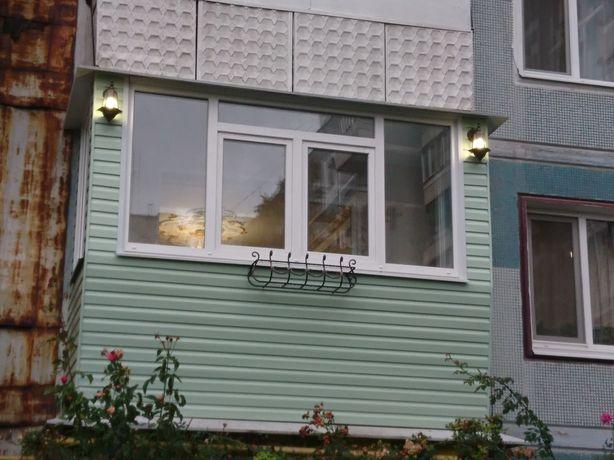 Балкон под ключ расширение . Отделка .