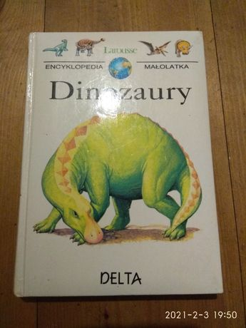 Encyklopedia małolata Dinozaury Larousse
