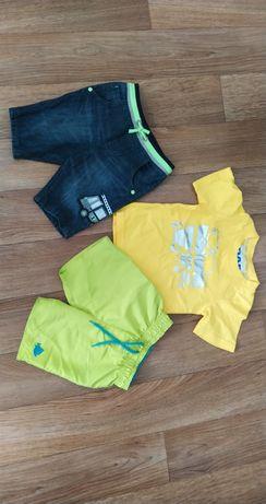 Набор вещей на 18-24 футболка шорты джинсовые на мальчика 2 года