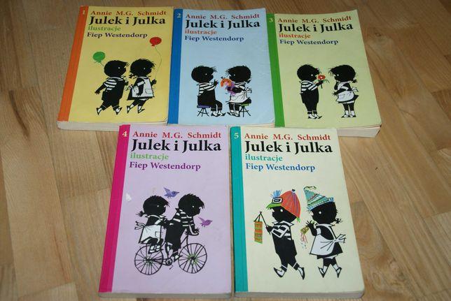 Julek i Julka zestaw 1-5 bdb