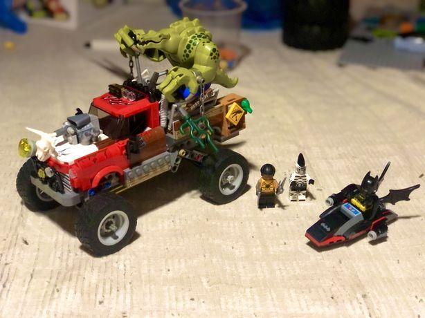 Лего Бэтмен: Хвостовоз Убийцы Крока | Lego Batman: Killer Croc (70907)