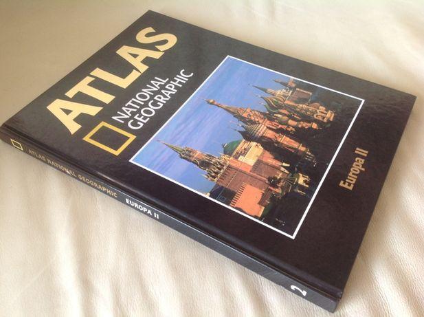 Atlas National Geographic: Europa II (Livro/Obra/Volume número 2)