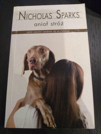 """Książka """"Anioł stróż"""" Nicholas Sparks"""
