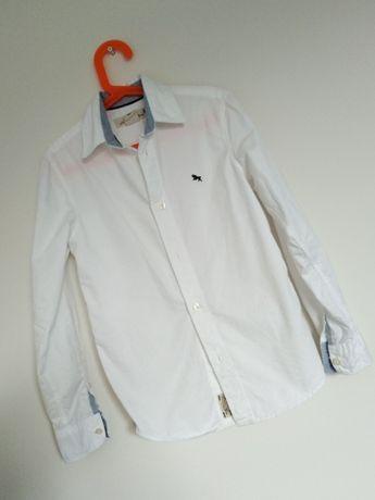 H&M Koszula Biała Elegancka Dla Chłopca 134