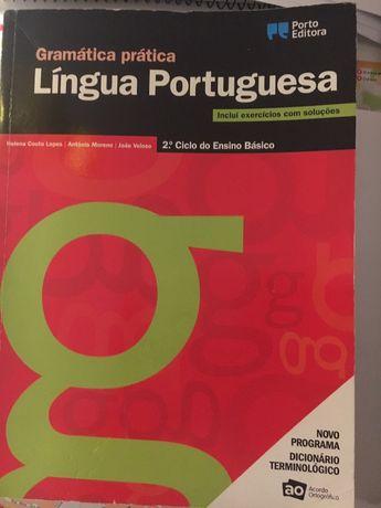 Gramática prática Língua Portuguesa 2 ciclo básico usada