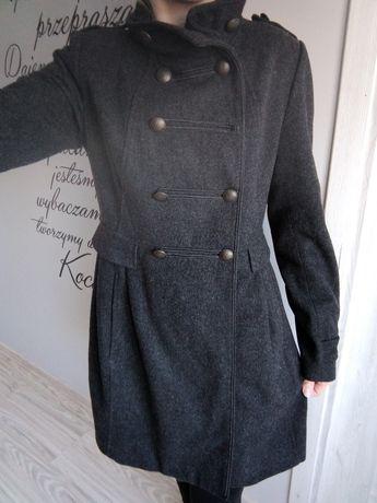 Płaszcz, kardigan, jesienny, wiosenny, przejściowy, kurtka, H&M