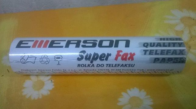 Papier termiczny do FAX-u rolka 210 mm /30m Emerson