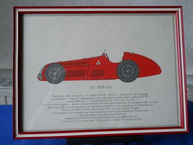 Винтажные рисунки автомобилей с описанием