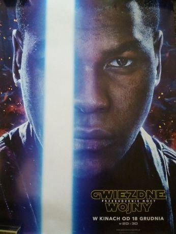 Star Wars plakaty Przebudzenie Mocy Finn, Han Solo