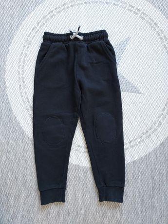 Spodnie dresowe next czarne 110