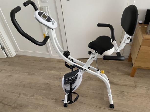 Bicicleta estática BH X-Tri 2 como nova!