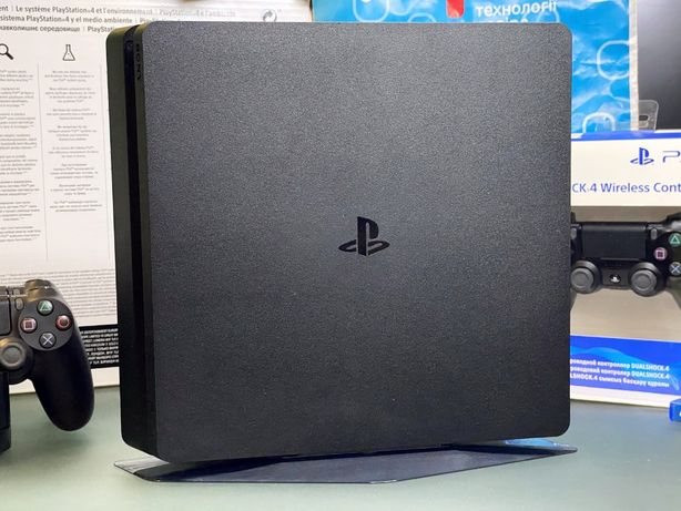 Sony PlayStation 4 Slim диск 3 геймпада подставка PS4 Pro Fat 5 обмен
