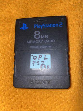 Cartao de memoria ps2 Opl com jogos