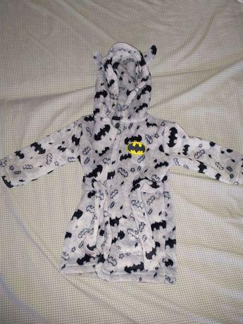 Теплый халатик на малыша