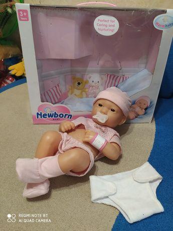 Кукла пупс новорожденный + ПОДАРОК