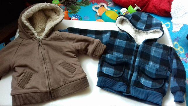 Kurteczki, kurtki, kurtka 0-3 miesiące