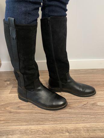 Kozaki czarne Zara 38