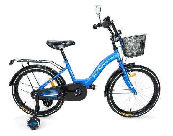 ROWER dziecięcy BMX dla chłopca niebiesko-czarny 20 cali NIEUŻYWANY