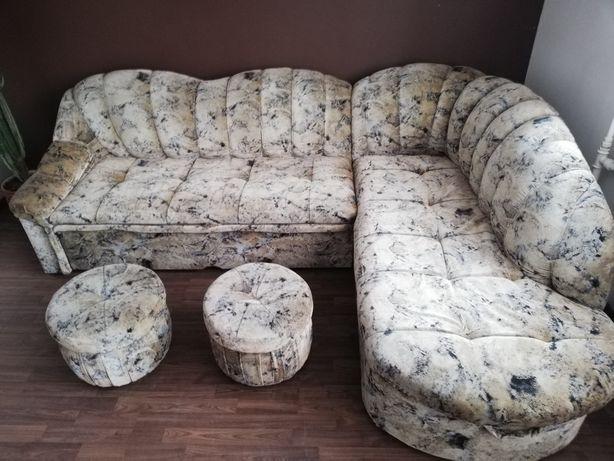 Narożnik kanapa łóżko