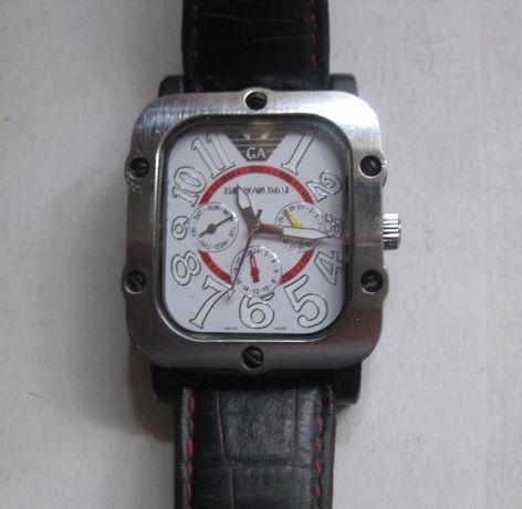 Zegarek Emporio Armani aytomt duży 40x55 mm
